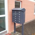 Briefkastenanlage_Beschichtet