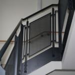 Treppenhausgeländer_Beschichtet_Lochblech