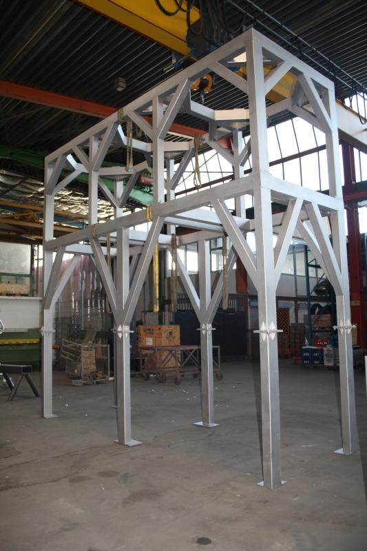 Stahlbau maschinenbau timmann for Biegesteifer rahmen stahlbau